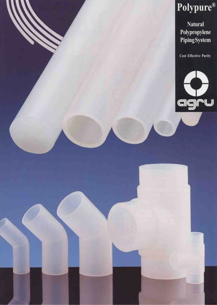 Agru Polypure Natural Polypropylene Piping System