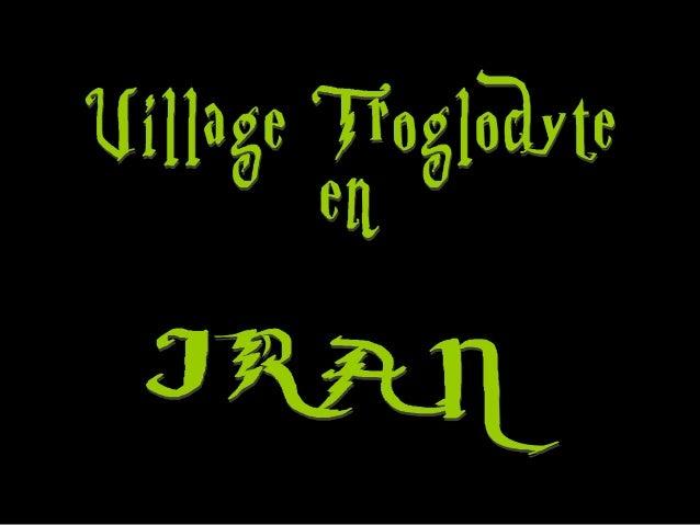 • Village troglodyte en IRAN vieux de 700 ans • Dans le nord-est de l'Iran au pied du mont Sahand dans Kandovan, les villa...