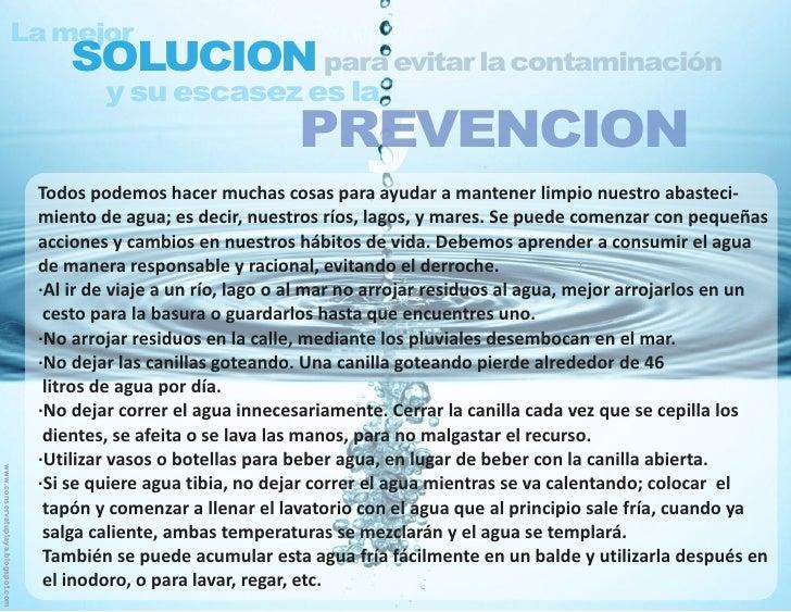 Contaminacion del agua - La domotica como solucion de futuro ...