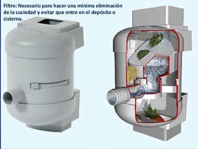 Sistema de captaci n del agua de lluvia - Agua de lluvia ...
