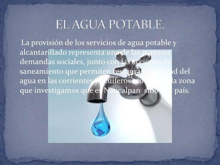 Agua potable alcantarillado y saneamiento for Agua potable