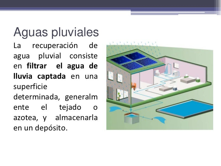 Aguas pluviales for Deposito agua pluvial