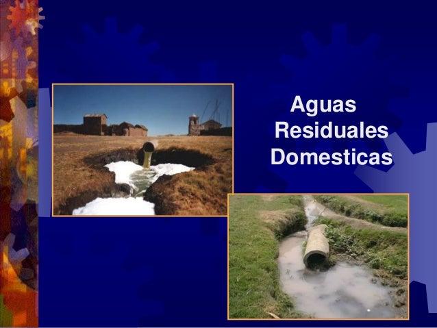 Aguas residuales domesticas for Depuradora aguas residuales domestica