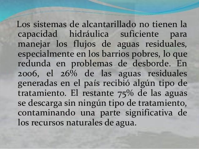 Antecedentes normativos La política de control de contaminación hídrica en Colombia está dirigida a mitigar el impacto de ...