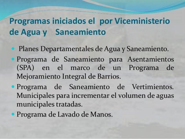 Normatividad Las responsabilidades del sector de agua y saneamiento en Colombia están definidas en la Constitución de 1991...