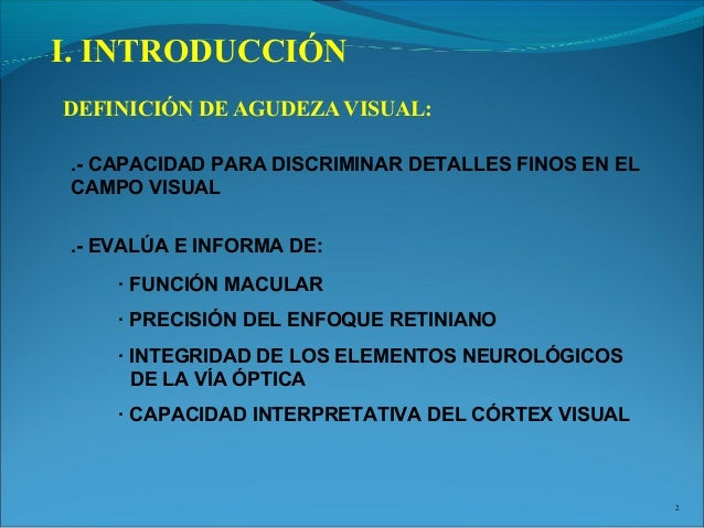 AGUDEZA VISUAL DEFINICION DOWNLOAD