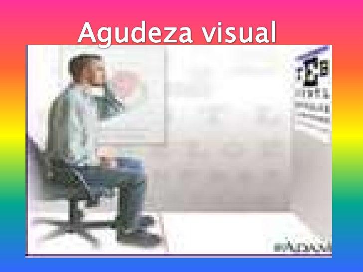 Agudeza visual<br />