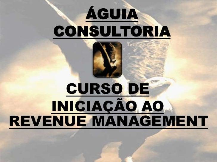 GUIA CONSULTORIA      CURSO DE    INICIAÇÃO AOREVENUE MANAGEMENT
