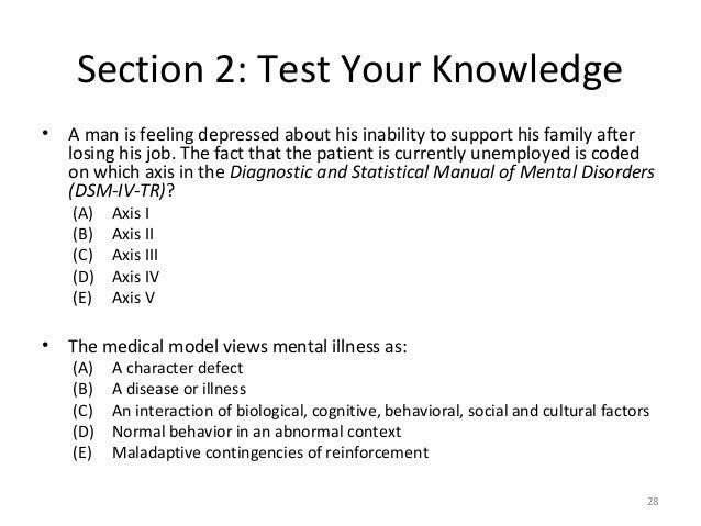 AP Abnormal Psych