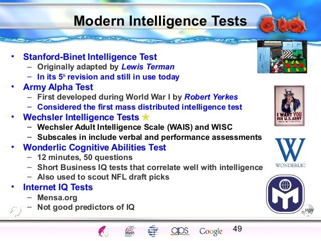 intelligence test and gifted requirements Evaluations for placement in gifted program (palm beach county) requirements: score of 130 or above (98th percentile) on an individually administered intelligence test.