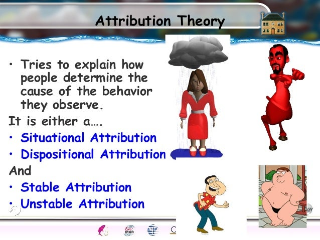 describe dispositional and situational factors in explaining behavior essay Describe the role of situational and dispositional factors in explaining behavior both situation and dispositional factors play a significant role in people.