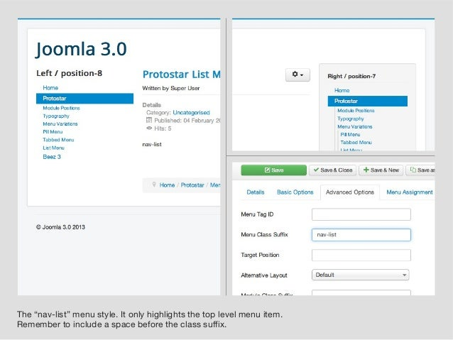 Joomla protostar joomla protostar how to change your for Protostar template layout