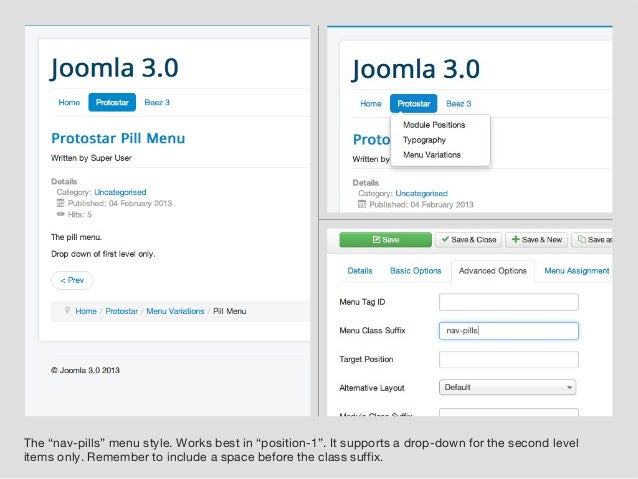 A Guide for Joomla 3\'s Protostar Template