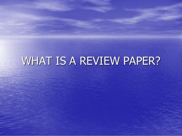 article review guideline Understand what an article review is an article review is written for an audience who is knowledgeable in the subject matter instead of a general audience when writing an article review, you will summarize the main ideas, arguments, positions, and findings, and then critique the article's contributions to the field and overall effectiveness.