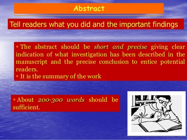 Introduction  Needs to get readers attention