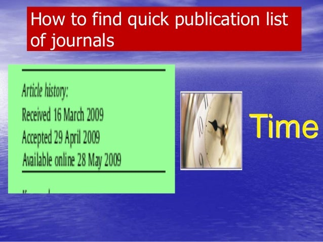 HOW TO SELECT TOP CITED/DOWNLOADED ARTICLES