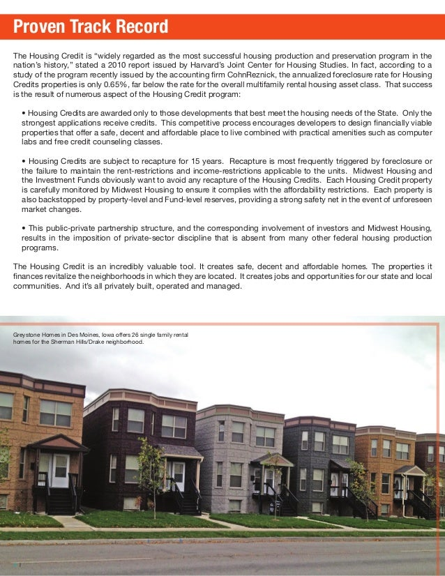 A Guide to Affordable Housing Midwest Housing Equity Group 3-2014