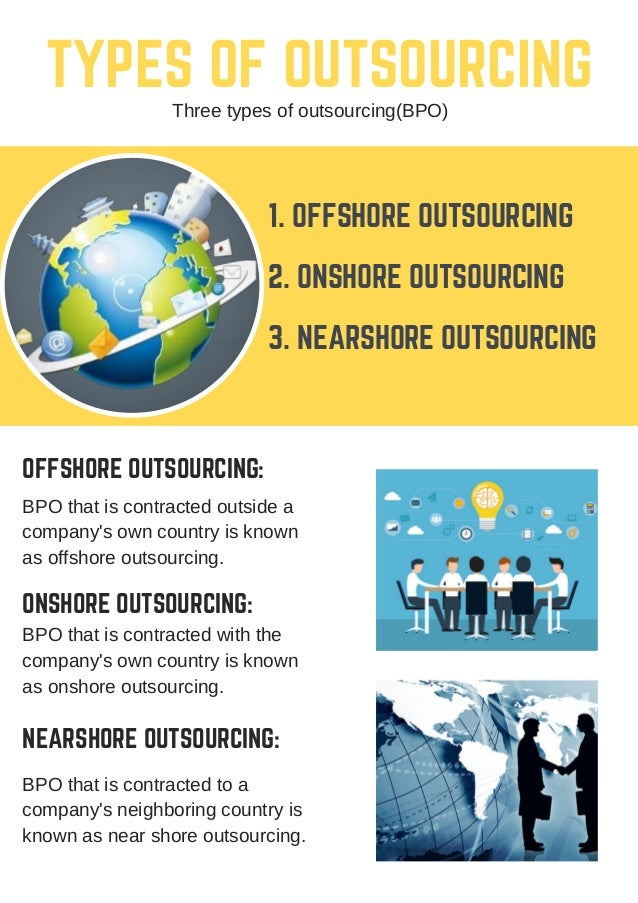 types of business process outsourcing pdf