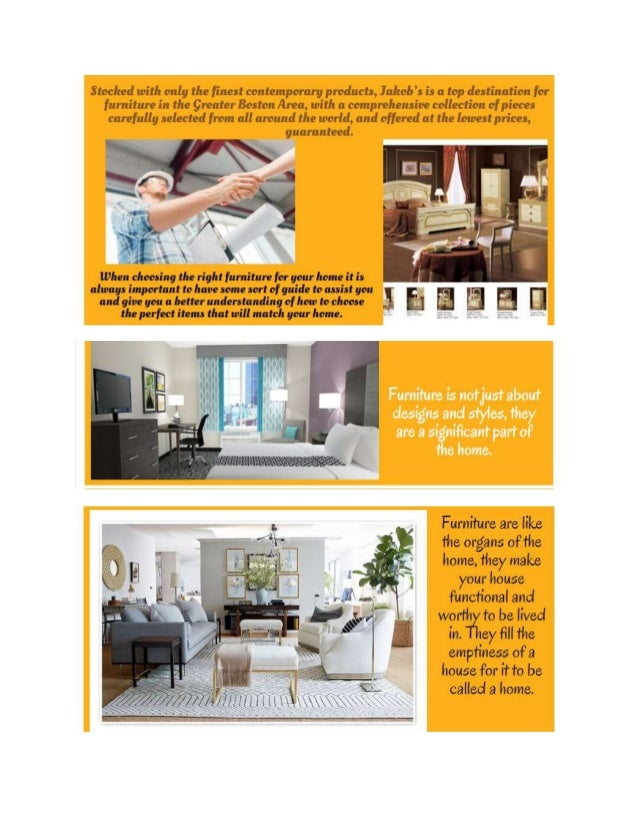 A Guide To Choose The Right Home Furniture