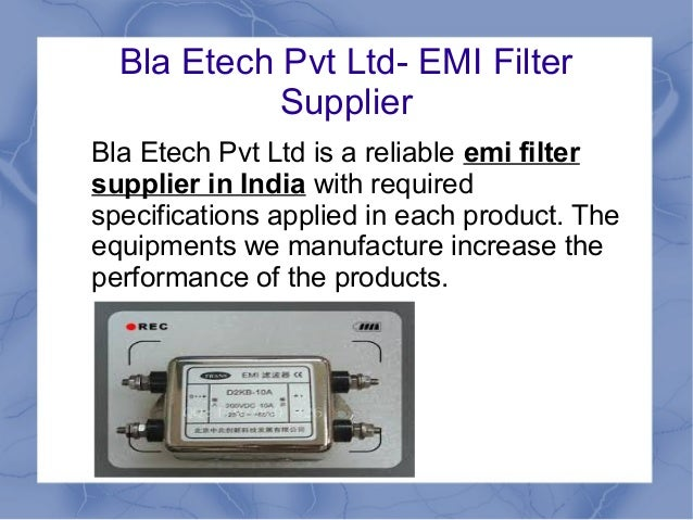 A Guide To Emi Filter