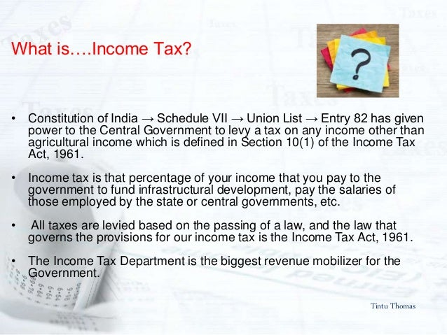 A guide to Income Tax personal taxation 2017-2018