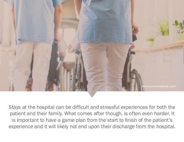 www.aurumnetwork.com Stays at the hospital can be difficult and stressful experiences for both the patient and their famil...