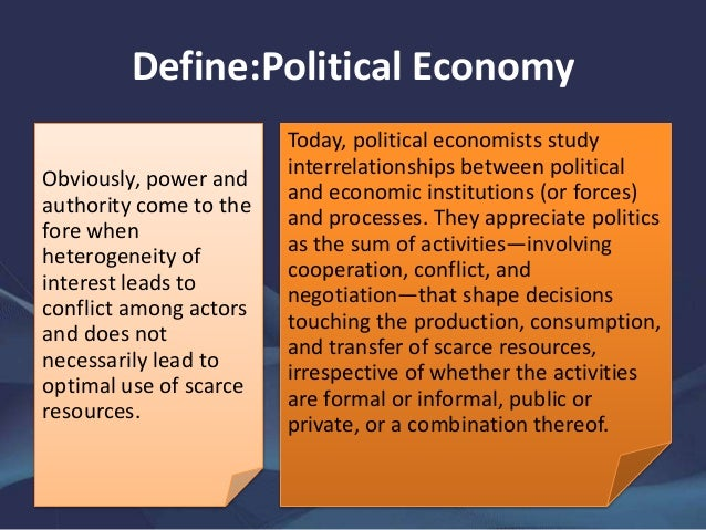 Phd thesis political economy