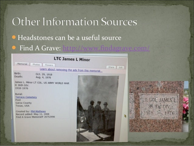 A guide to researching WWII military service