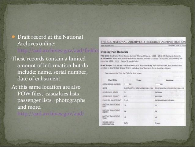 U.S. Marine Corps Muster Rolls, 1798-1958 U.S. World War II Cadet Nursing Corps Card Files, 1942-1948 American Jewish H...