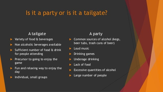 a guide for successful and safe tailgating