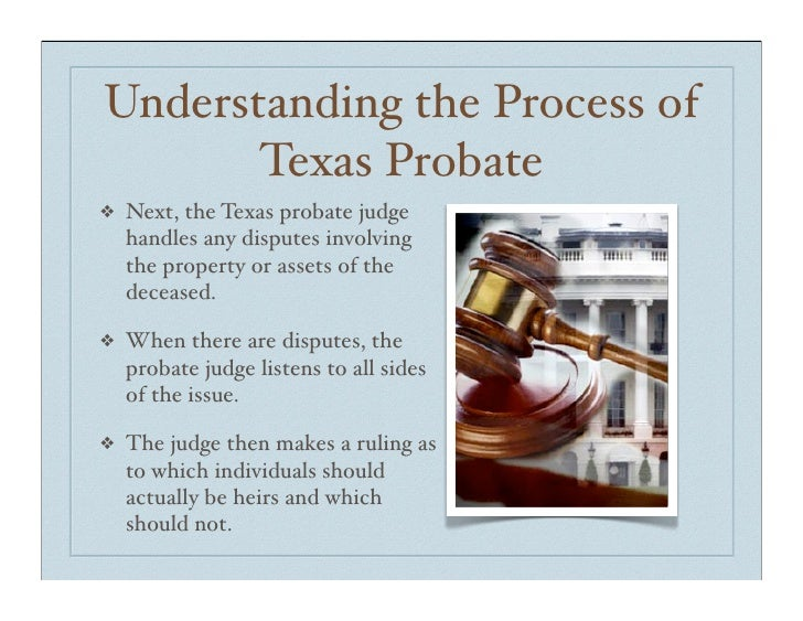 Probate Properties In Texas