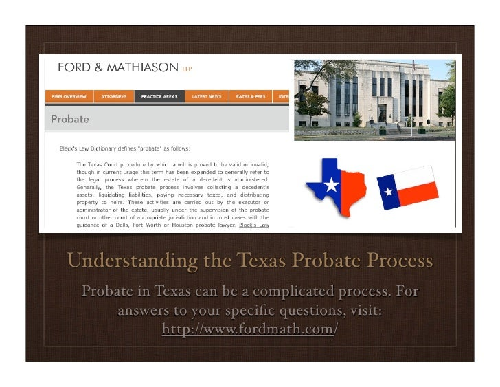 A Guide To Texas Probate Law
