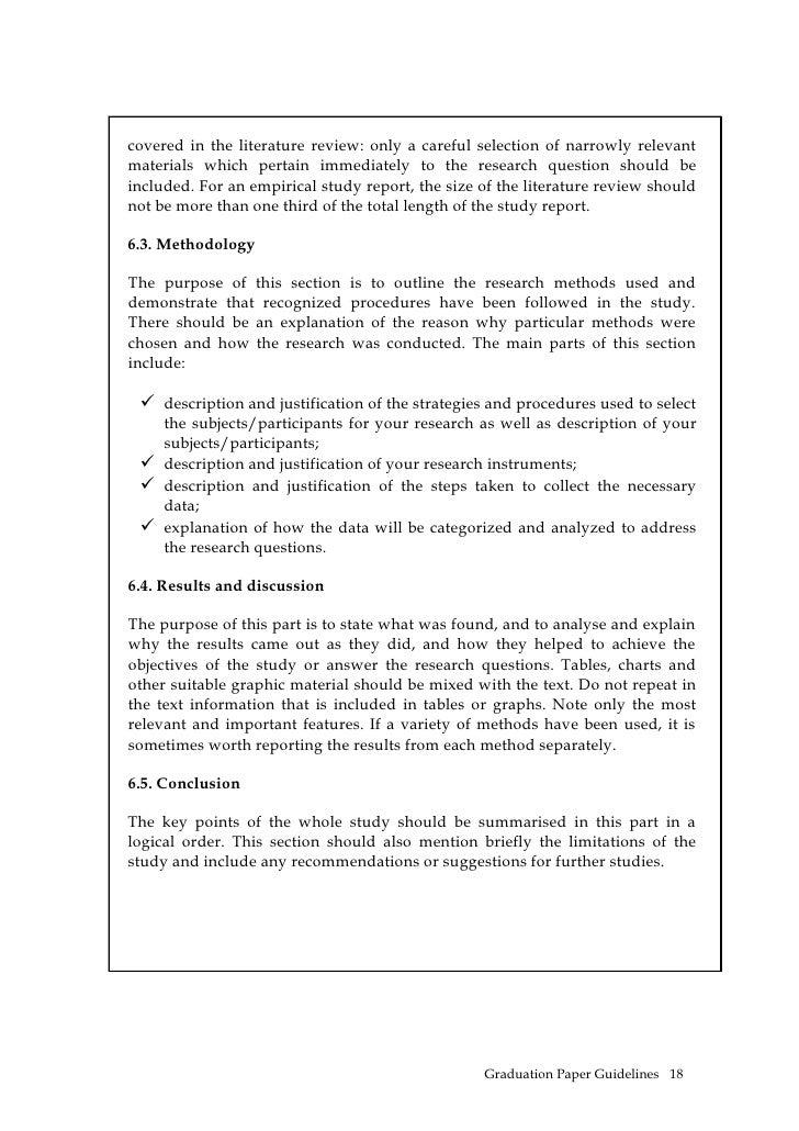 Corporals course essay