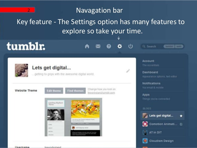 Blogging with Tumblr - a step by step guide