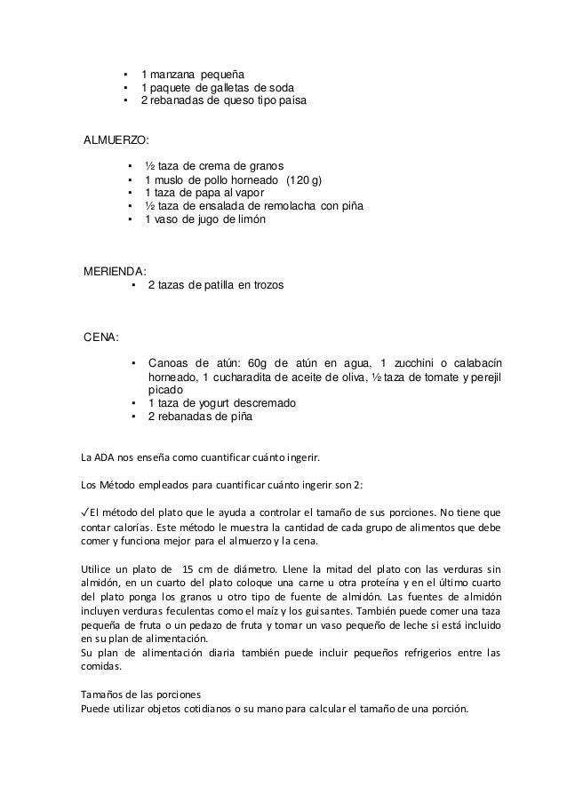 Plansemanal - 1.500 calorías Desayuno Comida Merienda Cena Recena Lunes LECHE 200 cc PAN 40 g ACEITE MEDIA MAÑANA FRUTA 1 ...