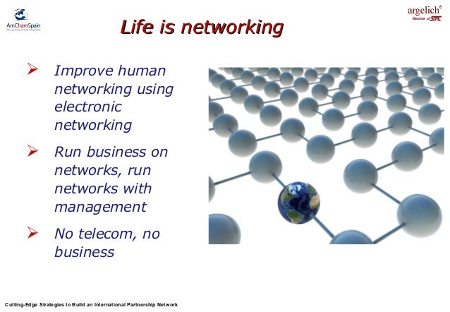 Build international business networks