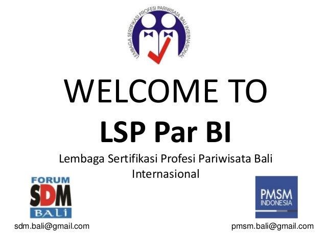Forum SDM Bali - LSP Pariwisata Bali Internasional