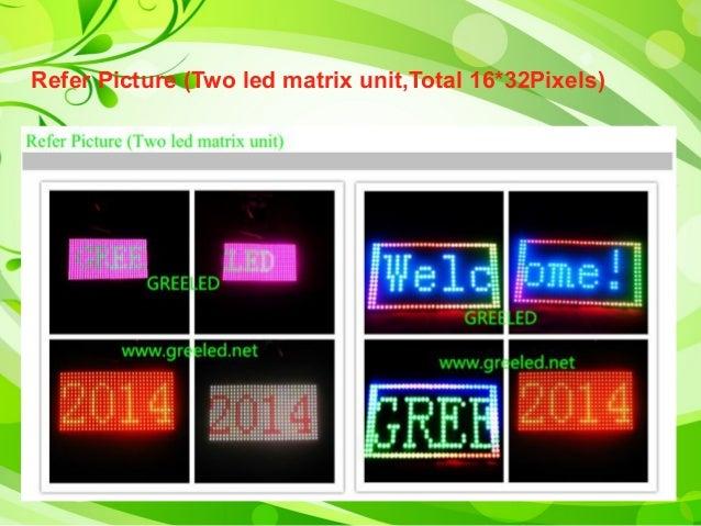 Diy ws2812 b led matrix