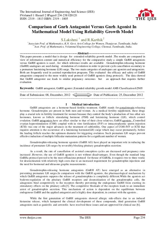 The International Journal of Engineering And Science (IJES)||Volume|| 1 ||Issue|| 2 ||Pages|| 234-238 ||2012||ISSN: 2319 –...