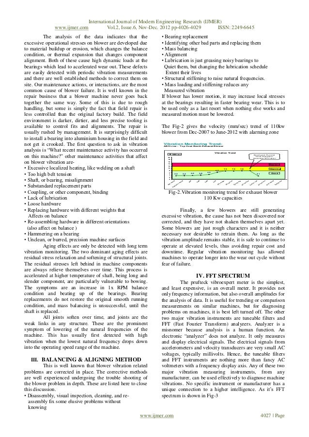 vibration analysis research papers frankensteincoursework
