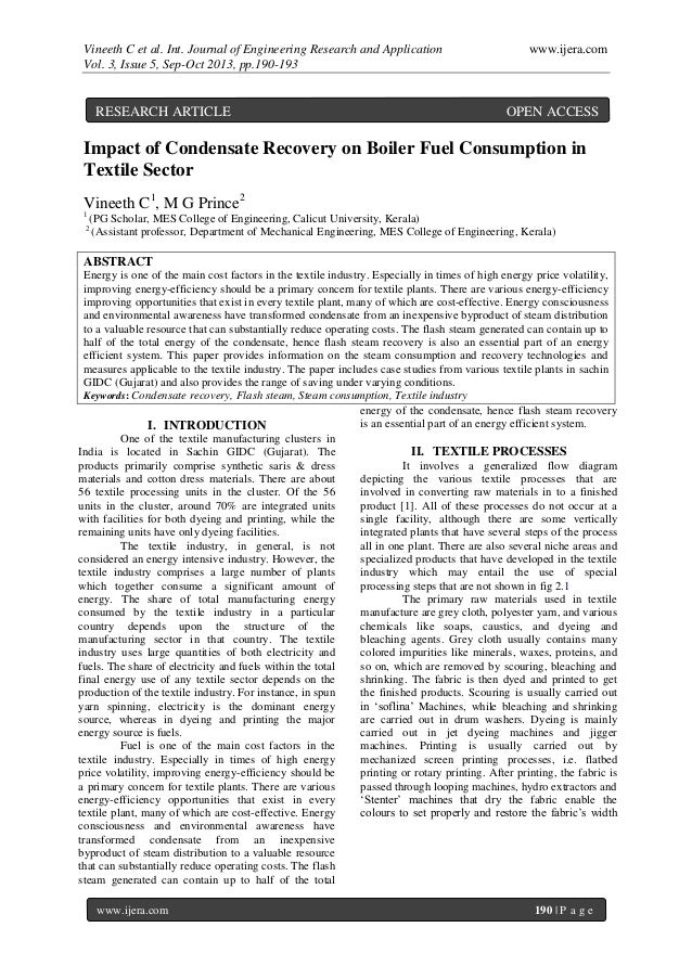 Vineeth C et al. Int. Journal of Engineering Research and Application www.ijera.com Vol. 3, Issue 5, Sep-Oct 2013, pp.190-...