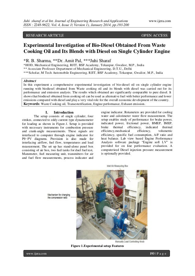 Juhi sharaf et al Int. Journal of Engineering Research and Applications ISSN : 2248-9622, Vol. 4, Issue 1( Version 1), Jan...