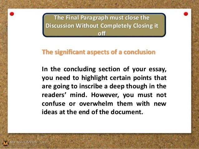 Essay For Health  Example Of An Essay With A Thesis Statement also Fifth Business Essays A Handbook On How To Write A Conclusion For An Essay Model English Essays