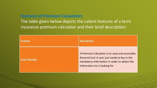 A Handy Guide to Term Insurance Premium Calculator