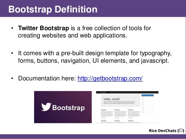 getbootstrap com templates - intro to twitter bootstrap