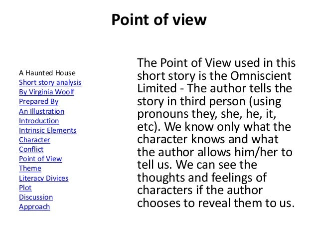 how does point of view affect theme