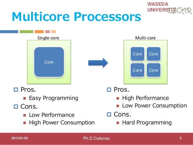 different between single core vs multi core