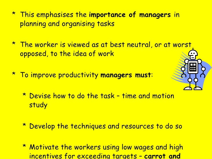Worker productivity essay