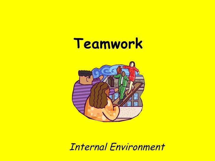 Teamwork Internal Environment