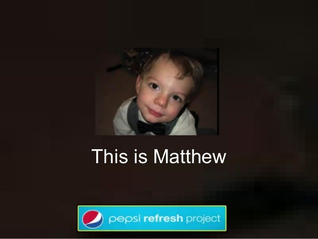 This is Matthew